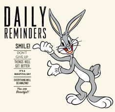 has all the entertainment with all kinds of Memes, Gifs and graphical jokes Bugs Bunny Quotes, Bugs Bunny Pictures, Duck Quotes, Me Quotes, Funny Quotes, Classic Cartoon Characters, Classic Cartoons, Hang In There Quotes, Serious Quotes