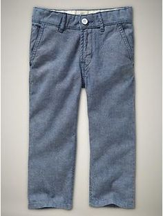 GAP boys oxford trouser jeans-love the skater feel clean lines very classic
