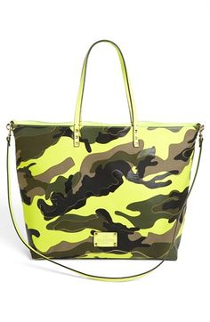 Valentino 'Rockstud - Camo' Reversible Tote available at #Nordstrom  Would like to rock this bag with black legging and olive blouse, Jeans, midi Skirt, maxi dress.