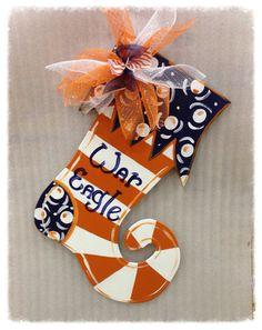 auburn door hangerStocking door by Furnitureflipalabama on Etsy, $30.00