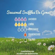 Seasonal Sniffles Be Gone