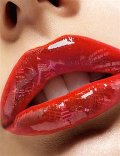 Hot red pepper #lips #art #fashion