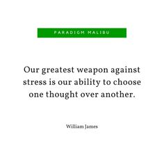 """""""Our greatest weapon against stress..."""" Inspirational Quote 
