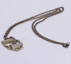 $1.81  33cm Cat Golden Sweater Chain Necklace Jewelry Vintage Charms