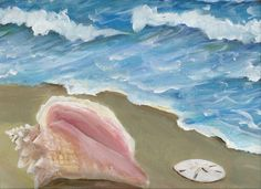 Original Acrylic Painting on 16x20 canvas of by giftsofcreation, $75.00