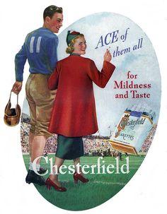 Chesterfield Cigarettes, 1937