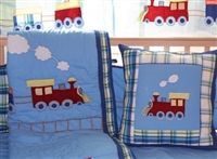 Baby Boy Train Bedding