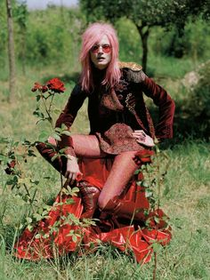 "Malgosia Bela in ""Like Dreamers Do"" by Tim Walker for Vogue UK December 2012"