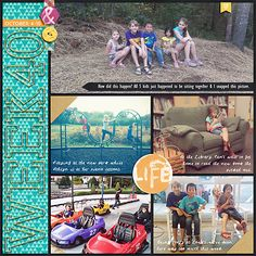 2015 Week 40 {right} Everyday Life September '15 by Juno Designs My Life Templates 10 by Scrapping with Liz