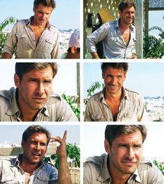 My ideal guy? Indiana Jones...Sigh...