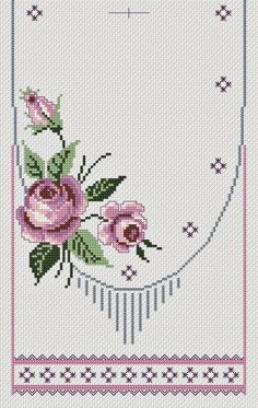This Pin was discovered by HUZ Just Cross Stitch, Modern Cross Stitch, Cross Stitch Borders, Cross S Just Cross Stitch, Cross Stitch Borders, Cross Stitch Flowers, Modern Cross Stitch, Cross Stitch Charts, Cross Stitch Designs, Cross Stitching, Cross Stitch Embroidery, Embroidery Patterns