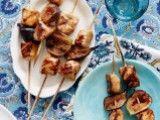 Cooking Channel serves up this Balsamic Chicken and Fig Brochettes recipe from Laura Calder plus many other recipes at CookingChannelTV.com