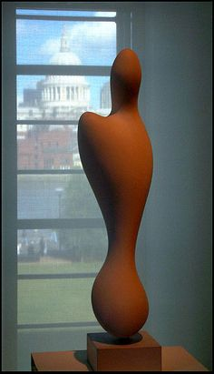 """Jean Arp """"Winged Being """" or """"Entité ailée"""" 1961"""