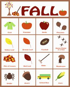 fall scavenger hunt...i've been looking for a good one!   # Pin++ for Pinterest #