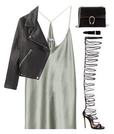"""""""#834"""" by aliensforsale ❤ liked on Polyvore featuring T By Alexander Wang, Acne Studios, Dsquared2, Gucci and Hard Candy"""