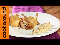 Quaglie ubriache / Come cucinare le quaglie - YouTube