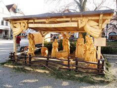 Best Outdoor Nativity Scene Sets - http://www.ittybittybeatclub.com/best-outdoor-nativity-scene-sets/