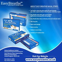 ABOUT EASY BREATHE NASAL STRIPS