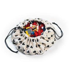 Play&Go <br/> Aufräumsack Mini Disney Mickey <br/> Natur,Spielsack, Play&Go - SNOWFLAKE kindermöbel concept store Mini Mickey, Mickey Mouse, Disney Mickey, Intelligent Design, Disney Play, Lego Bag, Mat Best, Toy Storage Bags, Play N Go