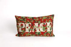 Trans-Ocean Imports 7SB1S420124 Visions Ii Collection Red Finish Pillow