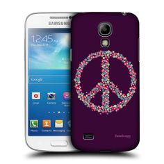 Head Case Peace Emblems Back Case Cover for Samsung Galaxy S4 Mini I9190 I9192 | eBay