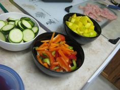 """Look for Shortcuts """"Healthier versions of convenience foods can be time savers when it comes to getting healthy meals on the table in a flash. Next time you're shopping, look for these nutritious options: Pre-cut butternut squash, ready-to-go stir-fry vegetables and pre-made salads"""""""