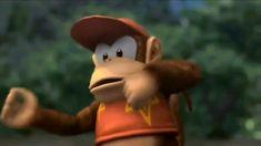 Diddy Kong Diddy Kong, Wii Games, Super Smash Bros, Christmas Ornaments, Holiday Decor, Christmas Jewelry, Christmas Decorations, Christmas Decor
