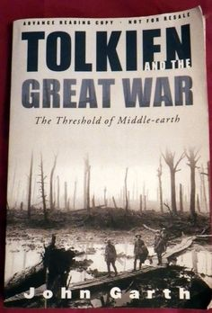 RareTolkien And The Great War,the Threshold Of Middle-Earth Advance Reading Copy #HOUGHTONMIFFLINHARCOURT