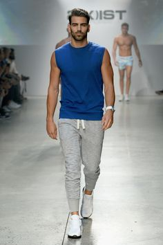 American Next Top Model, Nyle DiMarco at the 2(X)IST SS16 Fashion Show