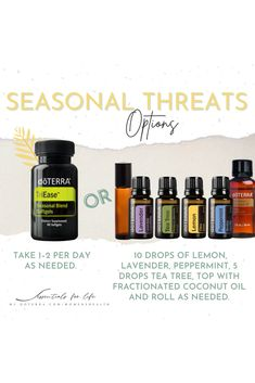 Ah Ah Ah ACHOOO!!! 🤧 If you or someone in your family suffers from seasonal threats then you HAVE to have this roller bottle on hand at all times. In a 10 mL roller add: 💧 10 drops Lavender 💧 10 drops Lemon 💧 10 drops Peppermint Optional: Add 5 drops of Tea Tree Top with carrier oil. Roll across the bridge of the nose (be careful of eyes!) and on the neck and wrists as needed. Do you ever feel like seasonal threats last more than a season?