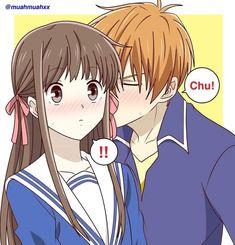 Best Romance Anime, Fruits Basket Manga, Otaku, Cartoon Profile Pictures, Naruto Cute, Music Wallpaper, Cute Anime Couples, Anime Ships, Anime Love