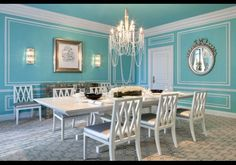 Tiffany Suite Dining Room The Elegant Was Designed To Look Exactly Like A Blue