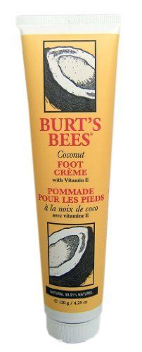 Burt's Bees Coconut Foot Creme, pack of 3 by Burt's Bees, http://www.amazon.com/dp/B002BCVLVC/ref=cm_sw_r_pi_dp_tolCrb1GX6MT6