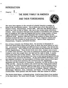 History of the Bone Family of America: descendants of William Bone I to the mid-nineteenth century and some of his ancestors Colonial America, Interesting History, Descendants, The Borrowers, Texts, Archive, Author, Names, Internet