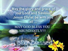 God bless you♥