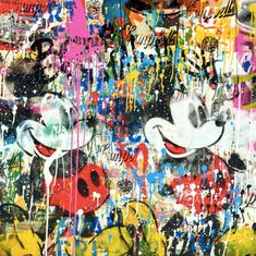 The Art of Mr. Mr Brainwash, Paint Buckets, Billie Holiday, Spray Can, Charlie Chaplin, Stencils, Street Art, Scene, Paintings