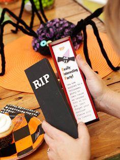 Creative Halloween invitation (LOVE IT)