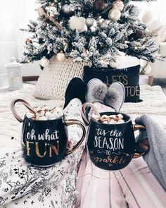 Inspiration für weihnachtliche Tassen - als Geschenkidee