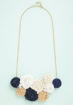 Windfall of Whimsy Necklace--you could do a DIY version of this.