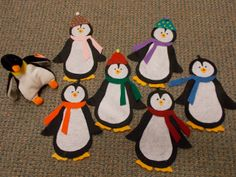 Fun with Friends at Storytime: Six Little Penguins