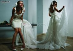 Foto abiti da sposa corti