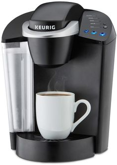 LOVE my Keurig coffee maker! My days are always better when I start them with a fresh cup of coffee! #ad Keurig® K-ClassicTM K55 Single-Serve K-Cup® Pod Coffee Maker