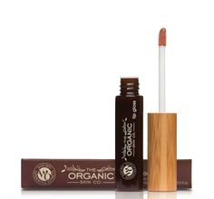 Certified organic and natural Meadow lip gloss that will nourish and protect the lips, available in five pigmented shades. Pink Lip Gloss, Pink Lips, Cleansing Gel, Natural Makeup, Mists, Eyeliner, Lipstick, Organic, Skin Care