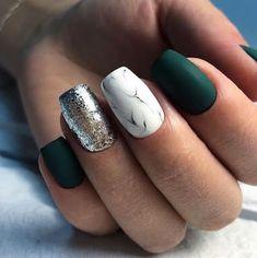 33 Glitter Gel Nail Designs For Short Nails For Spring 2019 Glitter Gel Nail Designs For Short Nails For Spring 2019 - gel-nails-spring Glitter Gel Nails, Matte Nails, Fun Nails, Silver Glitter, Green Glitter, Acrylic Nails, Dark Nails With Glitter, Navy Nails, Glitter Lipstick