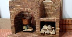 how to: miniature fireplace