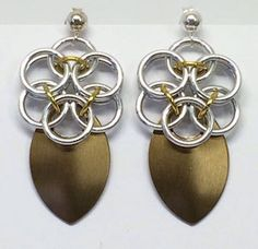 Designs also made to order, go to  www.tyne-e-art.co.uk for chain maille jewelry