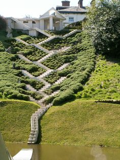 I've been there! The rest of the garden is even weirder. // Charles Jencks Portrack House and Gardens in Scotland
