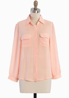 Sweet Tea Button Up Blouse | Modern Vintage Tops