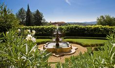 Relais & Chateaux - In this superb 700 hectare Tuscan estate, time would appear to have stood still. This magnificently restored property belonging to the Ferragamo family is an oasis of charm in the image of a mediaeval village with its 19th century villa, farm and farm buildings. Il Borro - ITALY  #relaischateaux #gardens