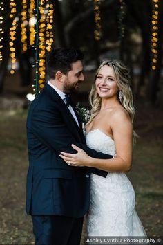 Wedding photography inspiration, hanging string lights